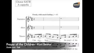 Bestor, Kurt   Prayer of the children   Guide Voix   Tutti
