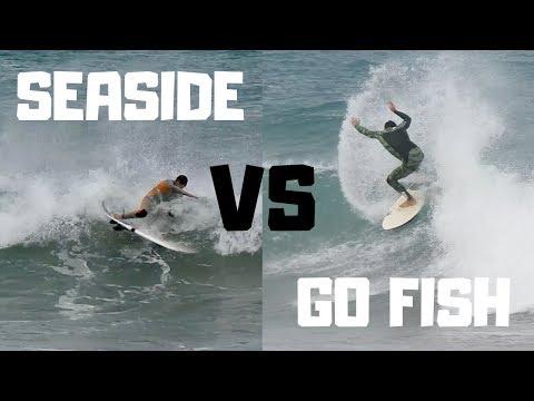 The GoFish VS The Seaside | Small Wave Board Comparison