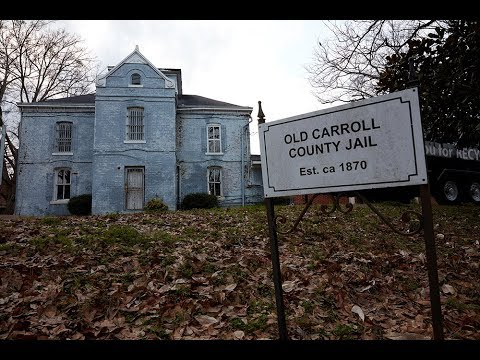 Traces of Odell Hallmon at the old Carroll County Jail