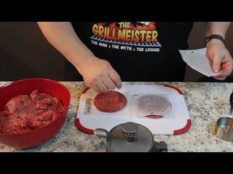 Make your own Hamburger Patties!  (Save Big Money!)