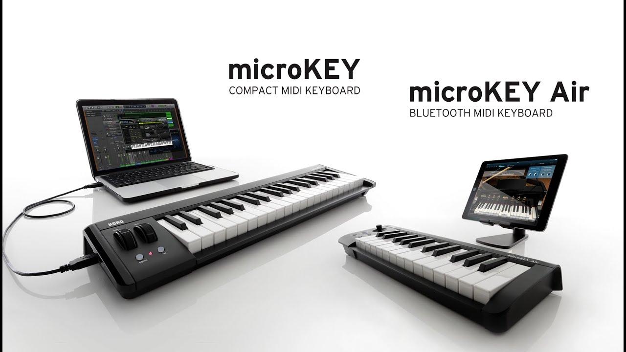Korg Microkey 2 Et Air Les Nouveaux Claviers Matre Usb Keyboard Votre Bluetooth La Boite Noire