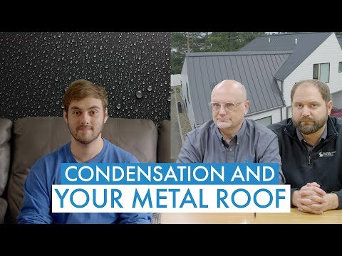 Condensation Under Your Metal Roof: Causes, Fixes, Prevention