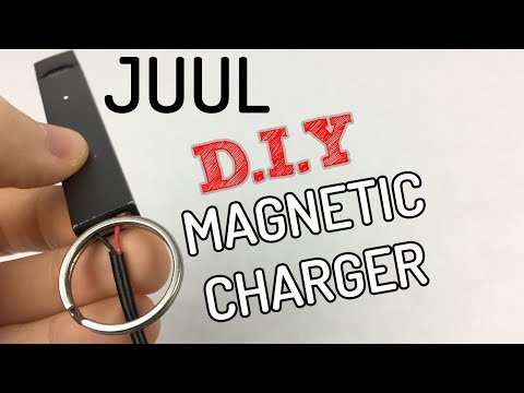 How to Make Homemade DIY Juul Magnetic Charger - YouTube