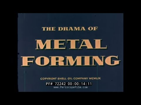 1959 METAL FOUNDRY & FORMING PROCESS SHELL OIL INDUSTRIAL FI