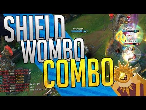SHIELD WOMBO COMBO! x5 ESCUDOS PODEROSOS! (Se tiltearon)