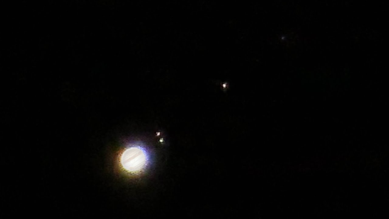 Canon Powershot Sx50 Hs Jupiter Amp Moons 200x Zoom Test