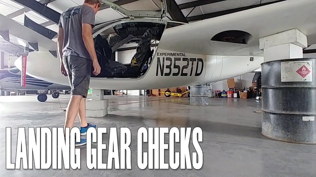 Landing Gear Checks - Building the Raptor Prototype