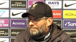 Manchester City 2-1 Liverpool - Jurgen Klopp Full Post Match Press Conference - Premier League