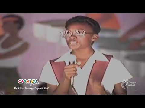 FLASHBACK: Mr & Miss Teenage Pageant 1985 (1st ever) (Antigua Carnival)