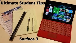 Ultimate Student Guide To Using Microsoft Surface 3 and Surface Pro 3