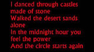 blackmores night the circle lyrics
