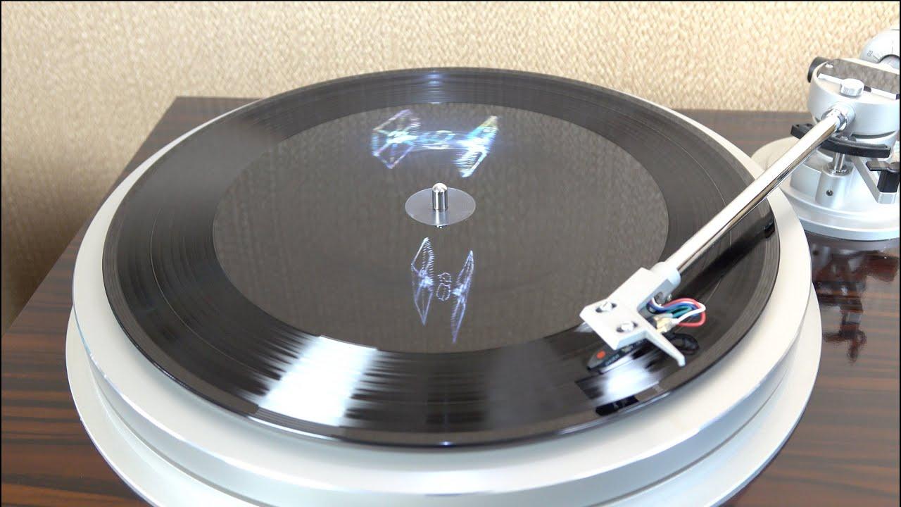 Hologram Vinyl Star Wars Tfa Soundtrack Youtube
