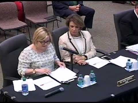 School Board Work Session - April 24, 2018