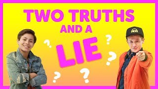 Two Truths & A Lie with Cooper & Shane from The KIDZ BOP Kids