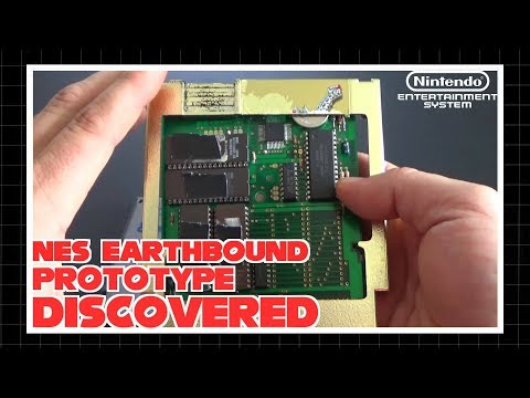 US NES Earthbound Prototype Discovered!