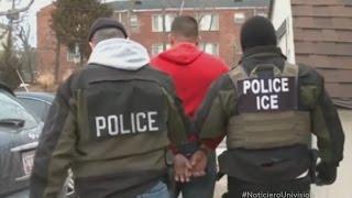 121 indocumentados son detenidos en las redadas migratorias