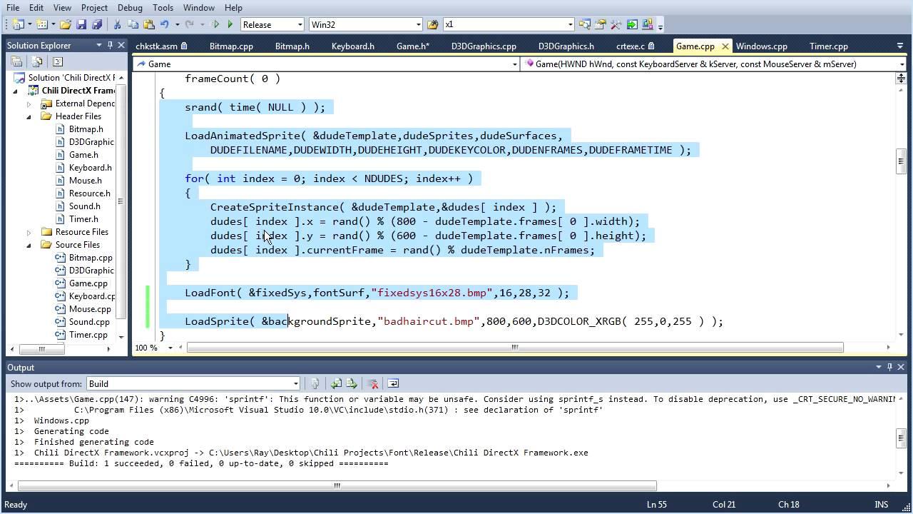 directx programming tutorial