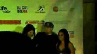 Brittney Killa Klump and Lisa at P-Diddy