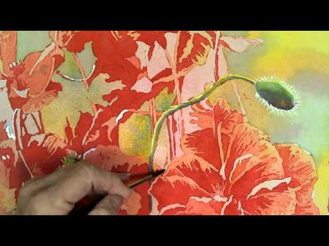 The Art of Pouring Watercolors, Part 5
