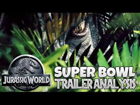 Jurassic World Superbowl Ad - Full Scene Analysis / Ramblings