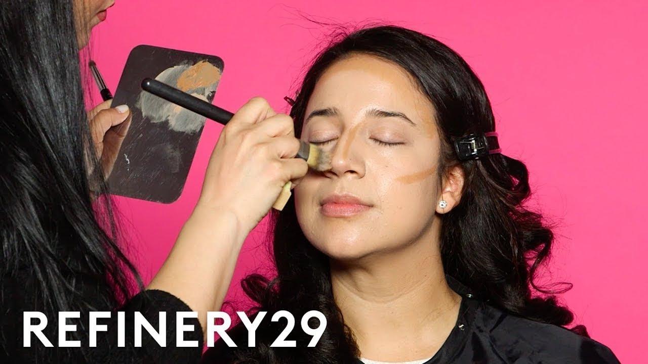 I Got Transformed Into Gina Rodriguez | Beauty Evolution | Refinery29