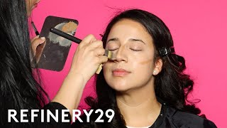 I Got Transformed Into Gina Rodriguez | Beauty Evolution | Refinery29