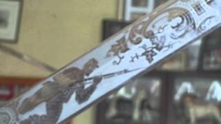 GENERAL US GRANT PRESENTATION SWORD, SMITHSONIAN INSTITUTION REPLICA