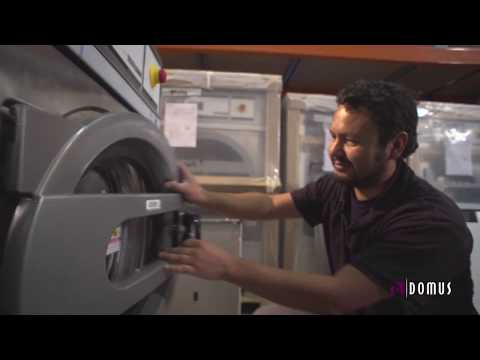 Domus Laundry™ Equipment How We Make Commercial Washing Machines And Dryers