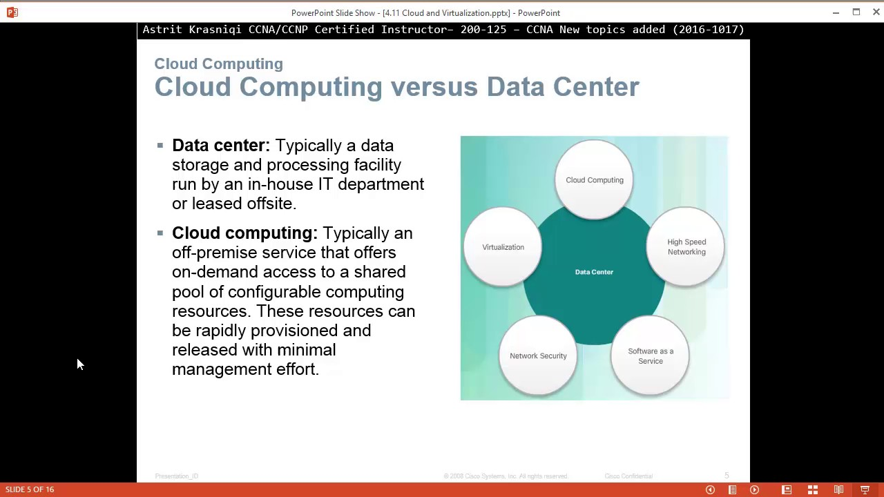 Cisco cloud computing ppt