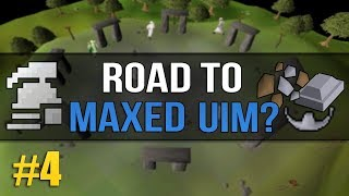OSRS Ultimate Ironman (Road to Max?) #4 - Using Supplies From Wintertodt / Questing