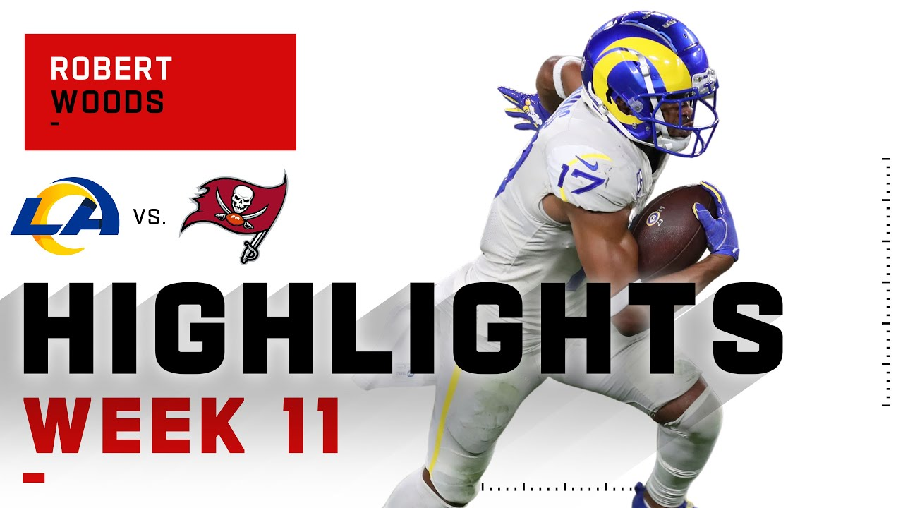 Robert Woods Keeps the Rams Train Chugging w/ 130 Receiving Yds | NFL 2020 Highlights
