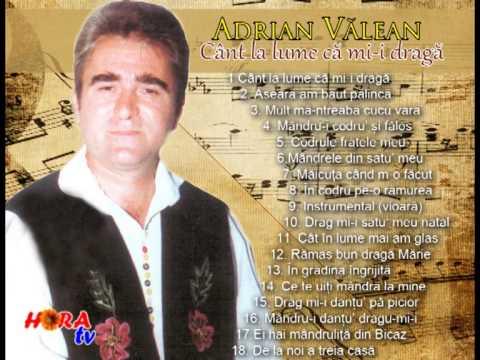 ADRIAN VALEAN - Drag mi-i satu meu natal