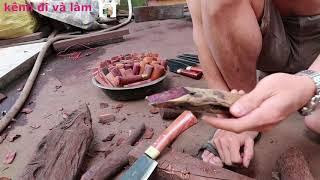 tìm hiểu về những loại gỗ quý để làm cán dao