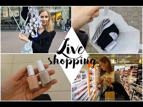 Live Shopping - Essie Zara Pull&Bear | AvianaRahl