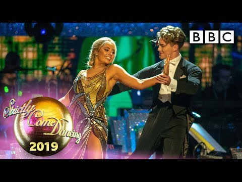 Saffron Barker And AJ Foxtrot To 'Theme From New York, New York' - Week 5 | BBC Strictly 2019