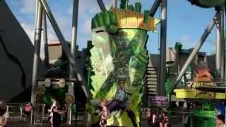 Islands Of Adventure Rides and Attractions 2012 HD Florida (Universal Orlando)
