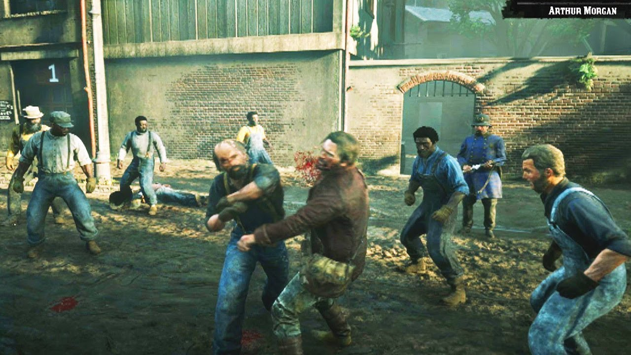 Red dead redemption fist fights