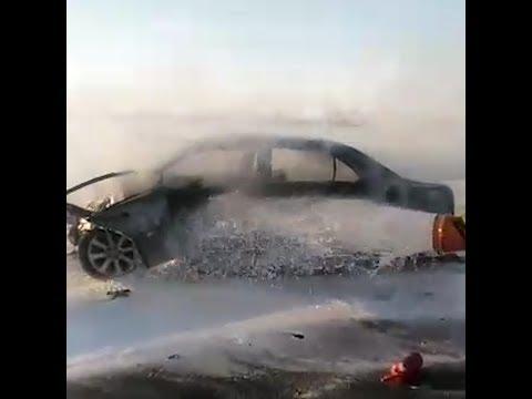 С мертельная авария на трассе | Ufa1.RU