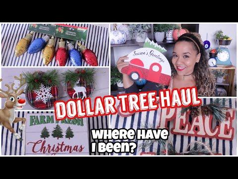 Dollar Tree Haul | Christmas Decor and UPDATE
