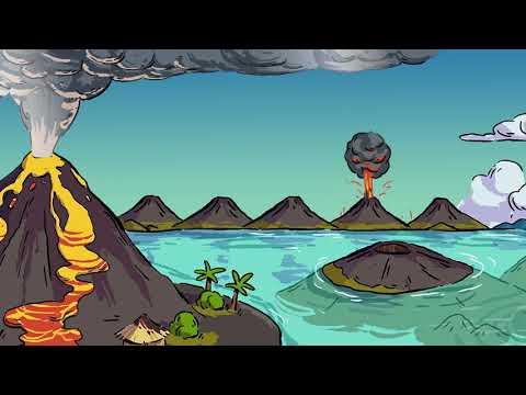 Про вулканы мультфильм
