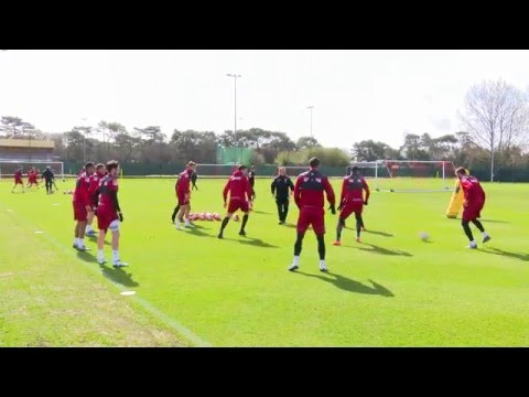 Count the passes | AFC Bournemouth at their free-flowing best during training