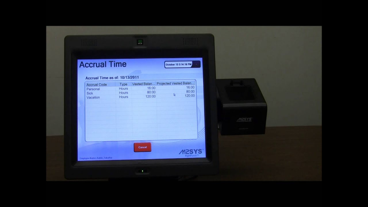 how to use kronos time clock