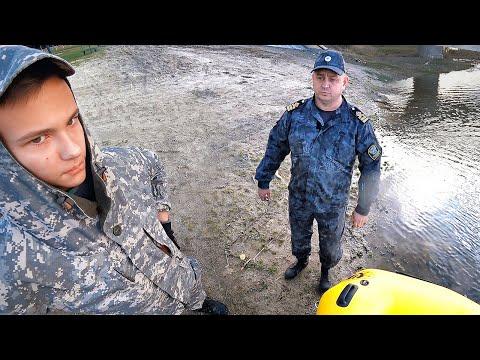 ПОПАЛИСЬ РЫБНАДЗОРУ | Рыбалка с сыном | Сплав по реке - ловля щуки на спиннинг