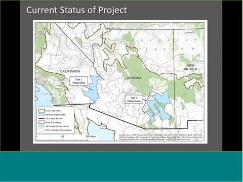 Webinar: Desert LCC National Hydrography Dataset Project