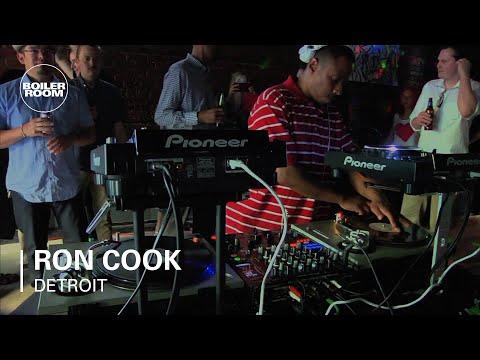 Ron Cook Boiler Room Detroit DJ Set