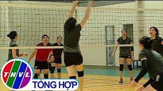 THVL | 2 đội bóng chuyền nam Sanest Khánh Hòa và nữ Kinh Bắc – Bắc Ninh đến Vĩnh Long