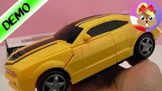 Najgłośniejsza zabawka na świecie? Transformers Bumblebee grający i świecący