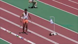 H30 三重インターハイ 男子走幅跳 優勝  海鋒泰輝