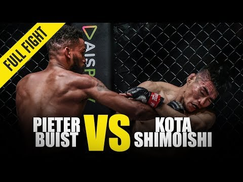 Pieter Buist vs. Kota Shimoishi | ONE Full Fight | May 2019