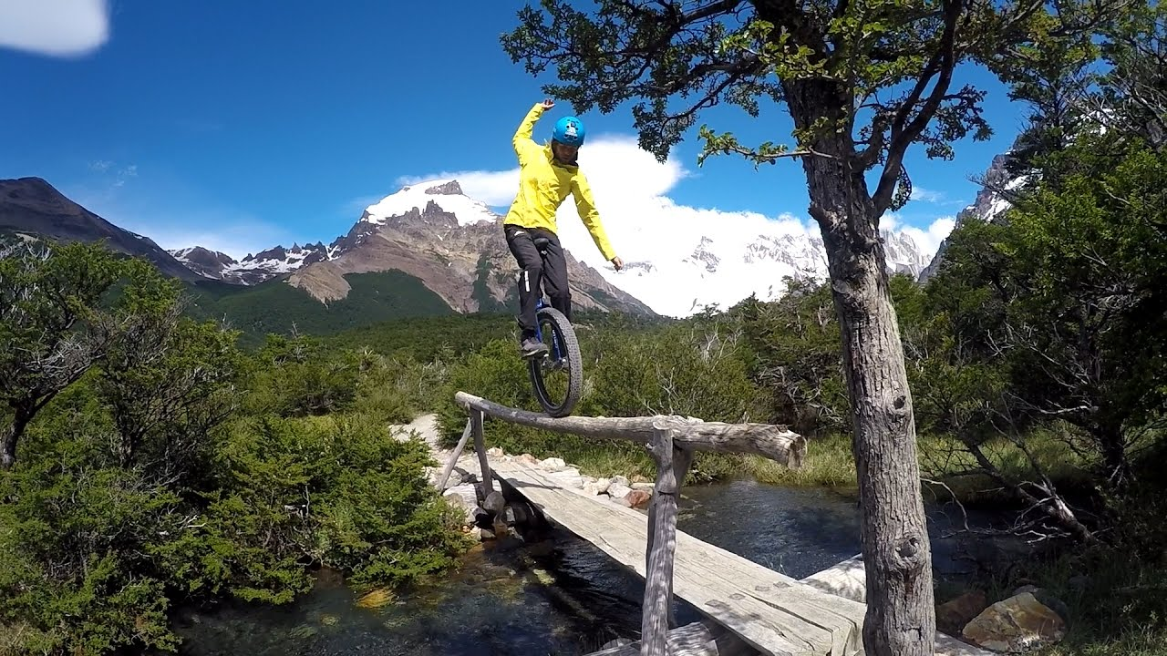 Mountain Unicycling in Chile